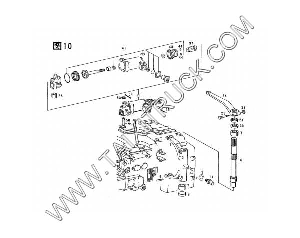Deputy Case Shifting Mechanism 5s 150gp Parts Catalog